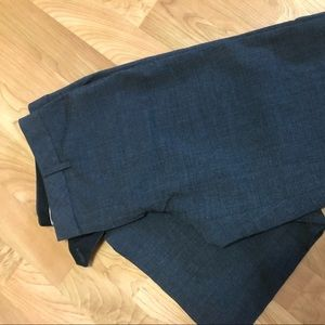 GAP 4L gray trouser dress pants